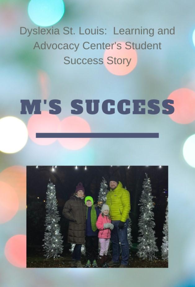 Dyslexia Success Story